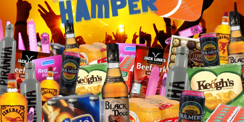 oxygen party hamper