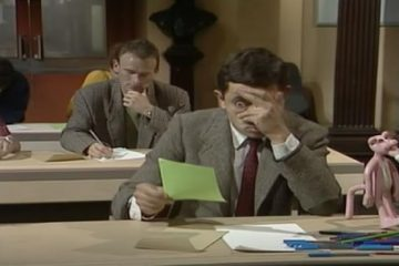 Mr-Bean-The-Exam-funny-video